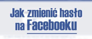 jak zmienić hasło na fb